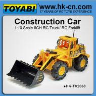 1:10 6 channel rc à vendre r c bulldozer, bulldozers