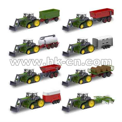 la última de alta rc emulación de tractor con 36 diseños diifferent
