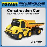 1:20 6 channel rc camions à benne de vente pour la vente rc rc chargeur pelle à vendre
