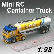 Mini rc monster truck 1:98 container skala mit vier farben design