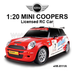 1:20 Licensed MINI Cooper S7 RC Cars