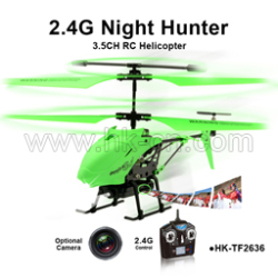 3.5CH Night-light RC Helicopter
