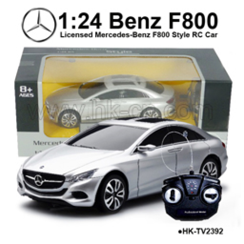 1 24 licensed mercedes benz f800 rc car buy hummer car for Mercedes benz rc car