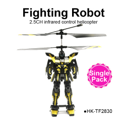 2.5CH RC plastic robot (1PCS) Metal Helicopter for sales