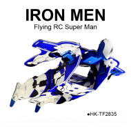 2CH RC flying man