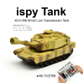 iSPY Real-time Tansmission WiFi M1A2 RC Tank
