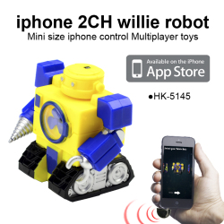 iphone Control 2CH Robot Transformers