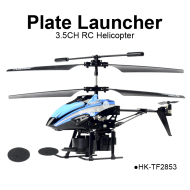 3.5CH multifunction Plate launcher RC helicopter