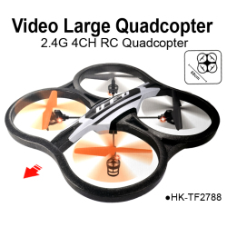 2.4G 4CH 6-Axis Large EPP rc quadcopter with camera