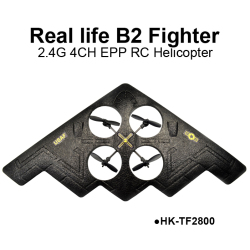 real life B2 fighter 4-axis EPP 2.4G 4CH RC Quadcopter