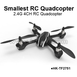 World Smallest 2.4G 4CH RC Quadcopter