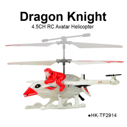 TOYABI Multifunction 4.5CH real life Drangon Knight Avatar RC Helicopter