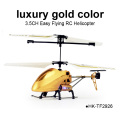 iuxury gold color 3.5CH RC Helicopter