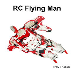 2CH Flying man Airman RC helicopter