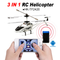 3 in 1  iphone control 3.5CH mini rc toys