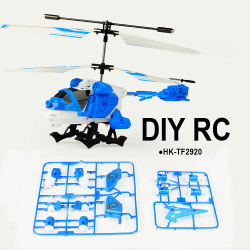 Hot Sale 3.5CH Bricolage Toys DIY Multifunction RC Helicopter