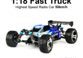 TOYABI Fastest Crash RC Truck Similar Traxxas Bandit XL-5 Top Car Rating High Speed Truggy