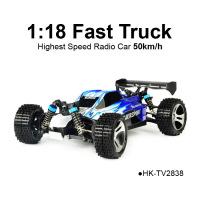 TOYABI Fastest Crash RC Truck Similar Traxxas Bandit XL-5 Top Car Rating High Speed Truggy