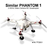 TOYABI Similar DJI phantom 1 Vision Video Camera aerial photography easy UAV 2.4GHz 4CH RC Quadcopter