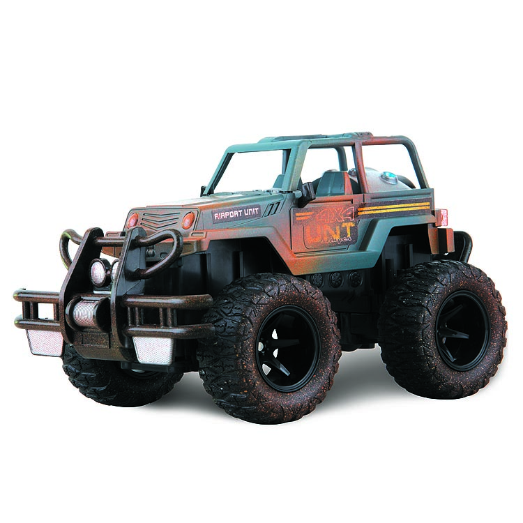 TOYABI FM Radio control Stock people bogging 4-wheeler mud jeep slinger truck cars HK-TV2832B