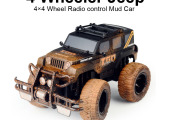 TOYABI 4WD TGO 4 Four Wheeler Truck Remote Control Jeep Car Mud monster Truck