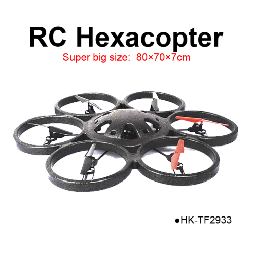 TOYABI 24GHz RC Largest Hexacopter Drone Big Size Quadcopter Ufo Radio Control Flying Toys