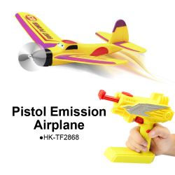 Hot Sale EPP Pistol Emission Gun Airplanes with Automatic Fly Toys