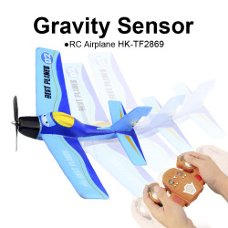 TOYABI 2.4GHz Gravity Sensor EPP RC Airplane