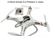 TOYABI CX-20 Auto-Pathfinder UVA Similar as DJI Phantom 1 2.4GHz 4CH Camera GPS Quadrocopter