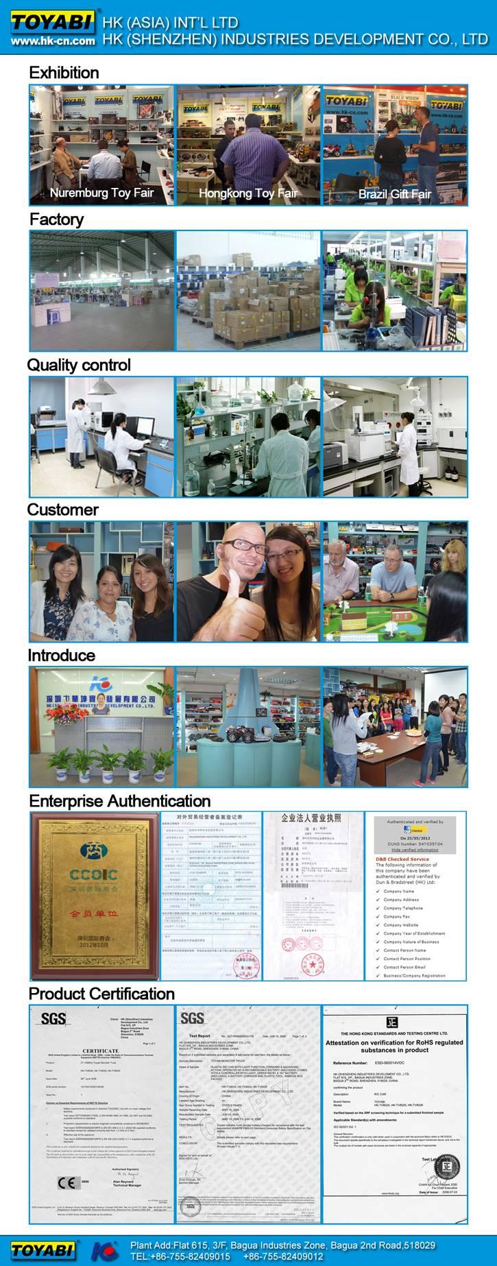 TOYABI RC TOYS Web Site  company information www.hk-cn.com