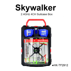 TOYABI 2.4G 4CH Climb Wall Helicopter skywalker RC Quadcopter UFO Drone