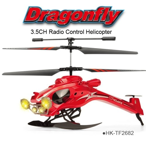 TOYABI middle size Dragonfly 3.5CH 27/40MHz & 2.4GHz Helicopter ...