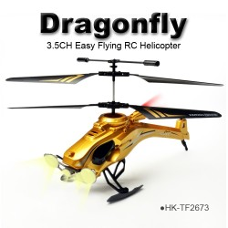 TOYABI mini size Dragonfly 3.5CH infrared control & 2.4GHz Helicopter Multifunction toys