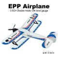 TOYABI 2.4G EPP High Speed 3Channel Radio Control Airplane with gyro