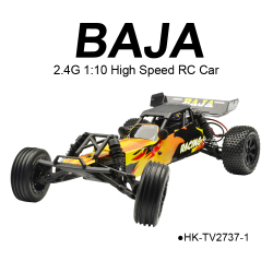 2.4G High Speed RC 1:10 Baja Models Trucks Cars