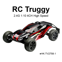 2.4GHz High Speed RC 1:10 Truggy Models Truck Toys