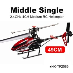 TOYABI Middle size single blade Max RC helicopters MJX F646 Model toys