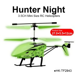 mini best 3.5CH hunter night blade beginner RC helicopters reviews for sale
