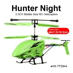 multifunction large best 3.5CH hunter night blade beginner RC helicopters for sale