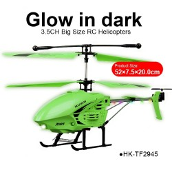 multifunction 3.5CH big best hunter night Xtreme glow in dark RC helicopters migic toys
