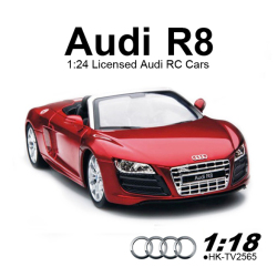 TOYABI 1:18 scale Licensed Audi R8 RC Cars for sales