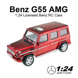 1:24 scale Licensed Benz G55 AMG remote control electric drift Cars for sales