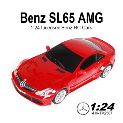 electric Benz SL65 AMG drift 1:24 scale licensed radio control cars for sales
