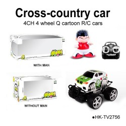 Toyabi cross-country cars mini size emulation radio control gift for sales