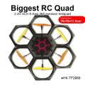 Toyabi wholesale biggest RC hexacopter largest 6-axis blade heliquad 2.4G 4CH 360 rotation quadcopter