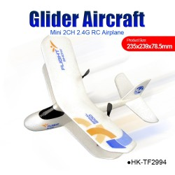 Glider Aircraft mini 2CH 2.4G EPP RC Airplane