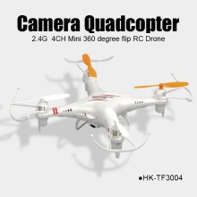 Wholesale camera RC quadcopter with 2.4G 4CH 360 flip for sales