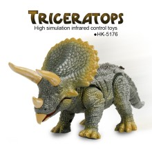 Wholesale triceratops high simulation infrared control animals toys