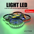Wholesale new Large rc quadcopter with light lED 2.4G 4CH 6-Axis EPP toys