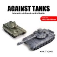 Wholesale T90 leopard battle tanks new RC toys